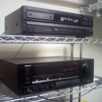 DENON DCD-1510 と Technics SU-V90D
