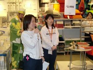 お泊り会@IKEA in 船橋 ネムリエセミナー