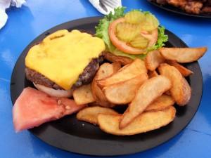 ジェフズパイレーツコープのハンバーガー